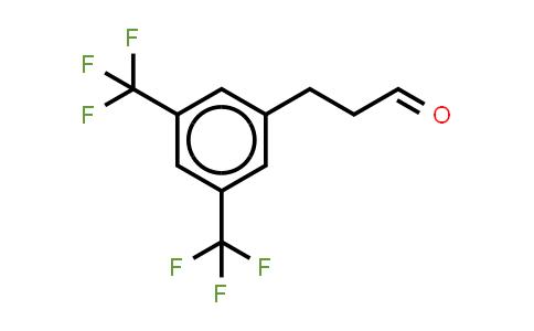 1057671-02-9   Benzenepropanal, 3,5-bis(trifluoromethyl)- (or 3-[3,5-Bis(trifluoromethyl)phenyl]propionaldehyde )