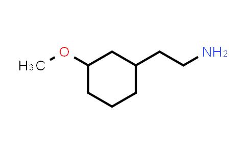 1057674-37-9 | 2-(3-Methoxycyclohexyl)ethan-1-amine