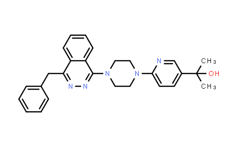1057677-92-5   2-(6-(4-(4-benzylphthalazin-1-yl)piperazin-1-yl)pyridin-3-yl)propan-2-ol