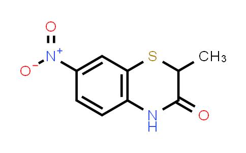 105807-71-4   2-Methyl-7-nitro-2H-benzo[b][1,4]thiazin-3(4H)-one