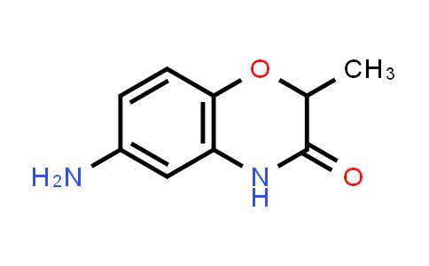 105807-80-5 | 6-Amino-2-methyl-3,4-dihydro-2H-1,4-benzoxazin-3-one