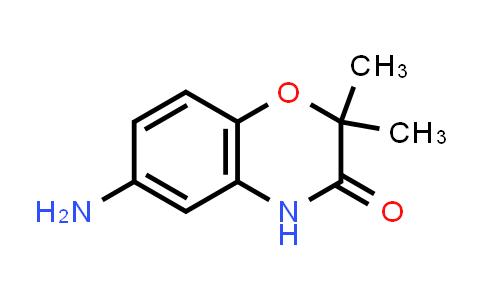 105807-84-9   6-Amino-2,2-dimethyl-4H-benzo[1,4]oxazin-3-one