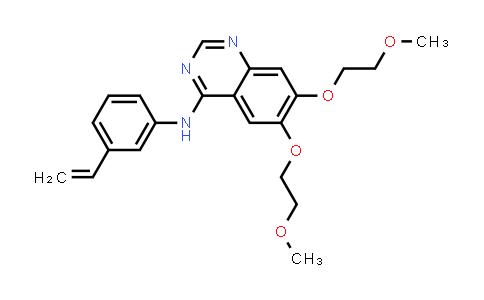 1058132-82-3 | N-(3-Ethenylphenyl)-6,7-bis(2-methoxyethoxy)-4-quinazolinamine