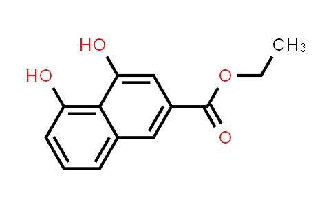 105901-88-0 | 2-Naphthalenecarboxylic acid, 4,5-dihydroxy-, ethyl ester