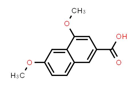 105901-89-1   2-Naphthalenecarboxylic acid, 4,6-dimethoxy-