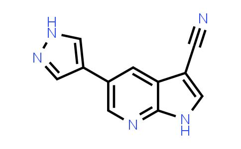 1059171-10-6   1H-Pyrrolo[2,3-b]pyridine-3-carbonitrile, 5-(1H-pyrazol-4-yl)-
