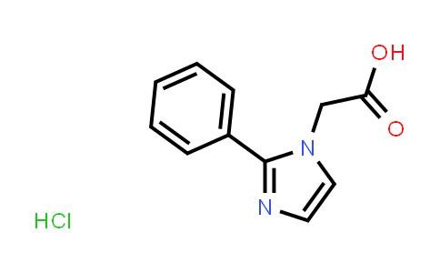 1059626-11-7 | 2-(2-Phenyl-1H-imidazol-1-yl)acetic acid hydrochloride