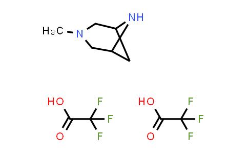1059700-17-2   3-Methyl-3,6-diazabicyclo[3.1.1]heptane bis(trifluoroacetic acid)