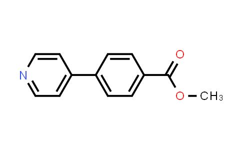 106047-17-0   methyl 4-(pyridin-4-yl)benzoate