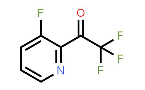 1060802-41-6 | 2,2,2-Trifluoro-1-(3-fluoropyridin-2-yl)ethanone