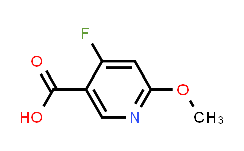 1060806-69-0 | 4-Fluoro-6-methoxynicotinic acid