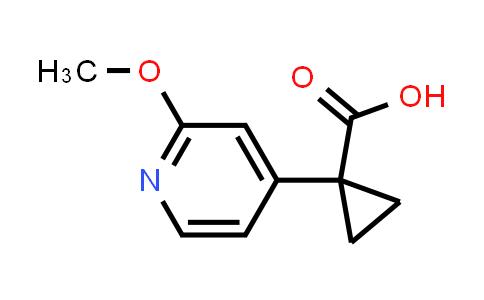 1060807-03-5 | 1-(2-Methoxypyridin-4-yl)cyclopropanecarboxylic acid