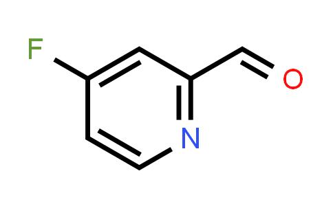 1060809-18-8 | 4-Fluoropicolinaldehyde