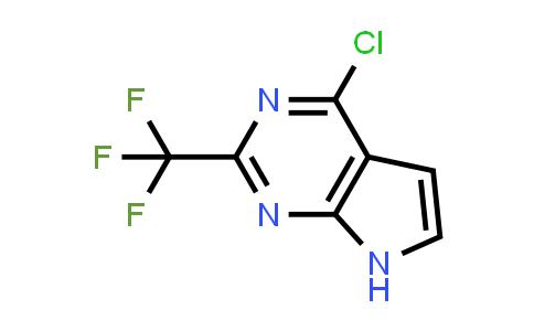 1060815-85-1 | 4-Chloro-2-(trifluoromethyl)-7H-pyrrolo[2,3-d]pyrimidine