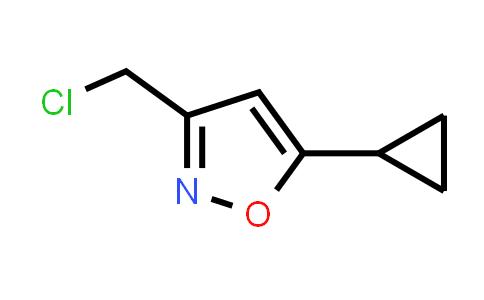 1060817-59-5 | 3-(Chloromethyl)-5-cyclopropyl-1,2-oxazole