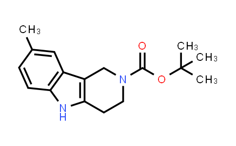 1060980-53-1   tert-Butyl 8-methyl-3,4-dihydro-1H-pyrido[4,3-b]indole-2(5H)-carboxylate