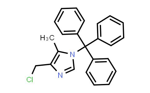 106147-85-7 | 4-(Chloromethyl)-5-methyl-1-trityl-1H-imidazole