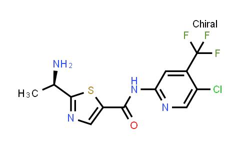 1095823-62-3   (R)-2-(1-aminoethyl)-N-(5-chloro-4-(trifluoromethyl)pyridin-2-yl)thiazole-5-carboxamide