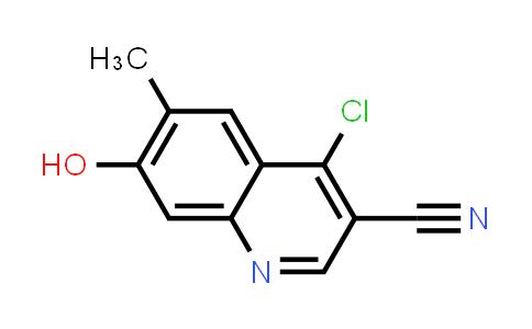 1096120-23-8 | 3-Quinolinecarbonitrile, 4-chloro-7-hydroxy-6-methyl-