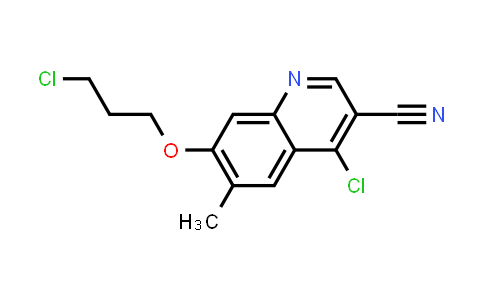 1096120-30-7 | 4-Chloro-7-(3-chloropropoxy)-6-methylquinoline-3-carbonitrile