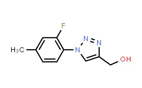 1096130-69-6 | [1-(2-Fluoro-4-methylphenyl)-1H-1,2,3-triazol-4-yl]methanol
