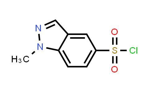 1097730-93-2 | 1-Methyl-1H-indazole-5-sulfonyl chloride