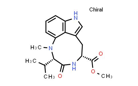 1097985-47-1 | Methyl (2S,5R)-2-isopropyl-1-methyl-3-oxo-2,3,4,5,6,8-hexahydro-1H-[1,4]diazonino[7,6,5-cd]indole-5-carboxylate