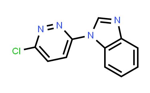 109890-25-7 | 1-(6-Chloropyridazin-3-yl)-1H-benzo[d]imidazole