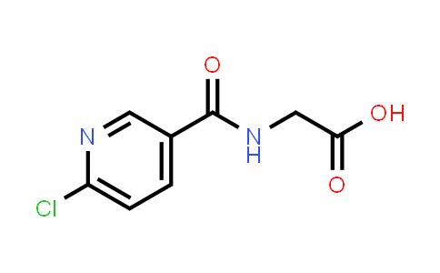 1099143-66-4   2-[(6-Chloropyridin-3-yl)formamido]acetic acid
