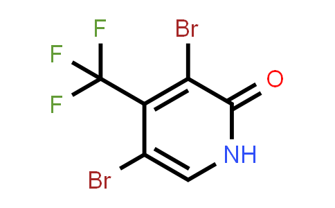 109919-34-8 | 3,5-Dibromo-4-(trifluoromethyl)pyridin-2(1H)-one