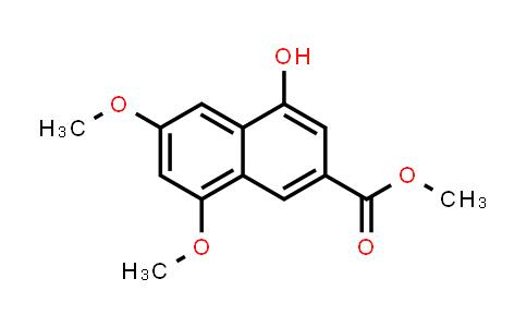 1099378-22-9   2-Naphthalenecarboxylic acid, 4-hydroxy-6,8-dimethoxy-, methyl ester