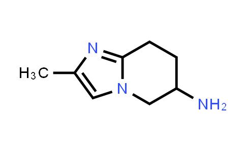 1099621-16-5 | 2-Methyl-5,6,7,8-tetrahydroimidazo[1,2-a]pyridin-6-amine