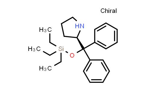 1100289-57-3 | (2R)-2-[Diphenyl[(triethylsilyl)oxy]methyl]pyrrolidine