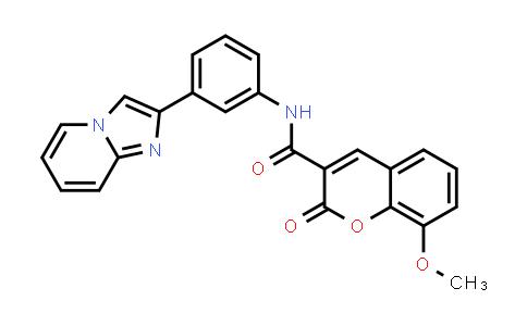 1100353-03-4 | N-(3-(imidazo[1,2-a]pyridin-2-yl)phenyl)-8-methoxy-2-oxo-2H-chromene-3-carboxamide