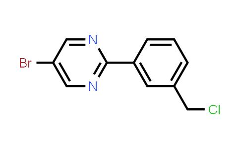 1100598-50-2 | 5-Bromo-2-[3-(chloromethyl)phenyl]pyrimidine
