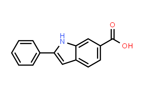 110073-83-1 | 2-Phenyl-1h-indole-6-carboxylic acid