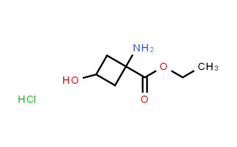 MC513809 | 1242187-41-2 | Ethyl 1-amino-3-hydroxycyclobutane-1-carboxylate hydrochloride