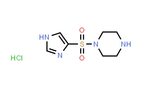 DY519132   1351611-81-8   1-(1H-Imidazol-4-ylsulfonyl)piperazine hydrochloride