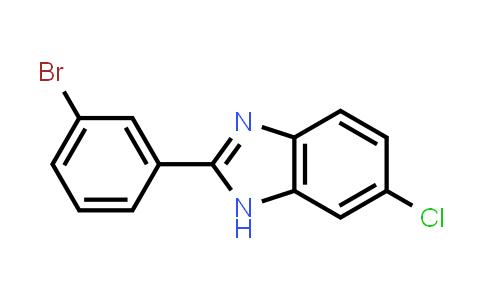 MC526970 | 1541475-50-6 | 2-(3-Bromophenyl)-6-chloro-1H-benzo[d]imidazole