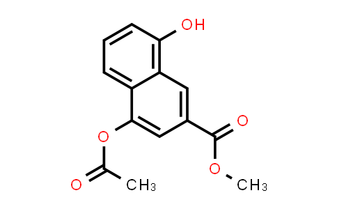 MC533475 | 181258-96-8 | 2-Naphthalenecarboxylic acid, 4-(acetyloxy)-8-hydroxy-, methyl ester