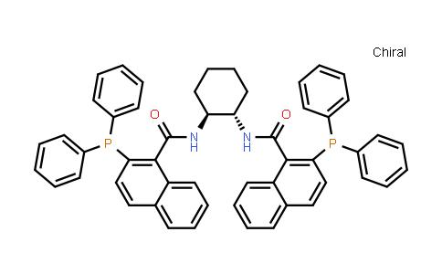 205495-66-5 | N,N'-((1S,2S)-Cyclohexane-1,2-diyl)bis(2-(diphenylphosphino)-1-naphthamide)