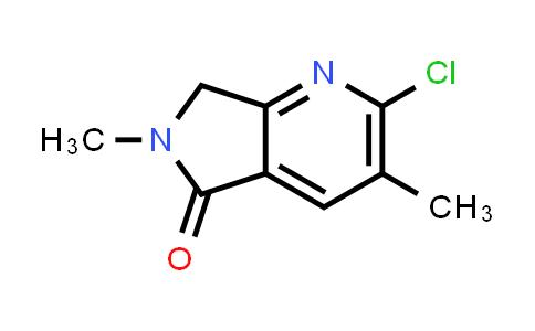 MC539734 | 2102325-48-2 | 2-Chloro-3,6-dimethyl-6,7-dihydro-5H-pyrrolo[3,4-b]pyridin-5-one