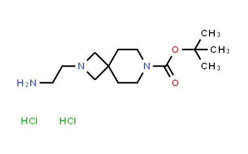 2173991-85-8 | tert-Butyl 2-(2-aminoethyl)-2,7-diazaspiro[3.5]nonane-7-carboxylate dihydrochloride