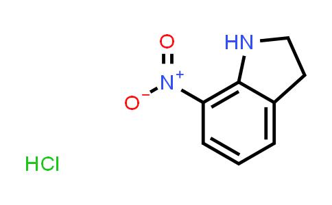 2173992-22-6 | 7-Nitroindoline hydrochloride