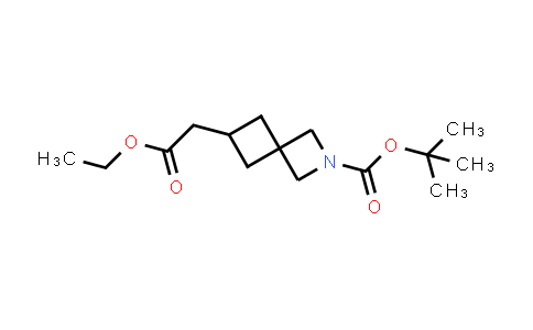 2173992-27-1 | tert-Butyl 6-(2-ethoxy-2-oxoethyl)-2-azaspiro[3.3]heptane-2-carboxylate