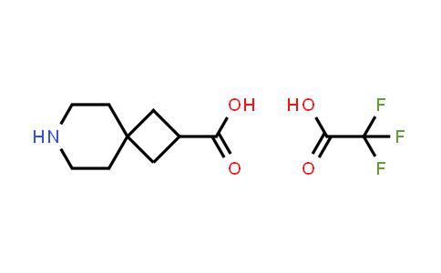 2173992-43-1   2,2,2-Trifluoroacetic acid compound with 7-azaspiro[3.5]nonane-2-carboxylic acid (1:1)