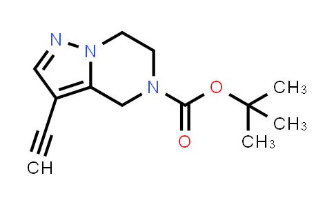 2174007-60-2 | tert-Butyl 3-ethynyl-6,7-dihydropyrazolo[1,5-a]pyrazine-5(4H)-carboxylate