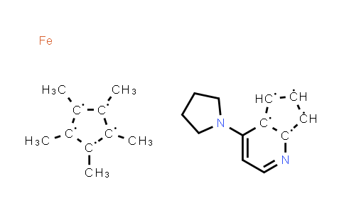 217459-10-4   (R)-(+)-4-Pyrrolidinopyrindinyl(pentamethylcyclopentadienyl)iron