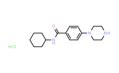 2176124-88-0 | N-Cyclohexyl-4-(piperazin-1-yl)benzamide hydrochloride