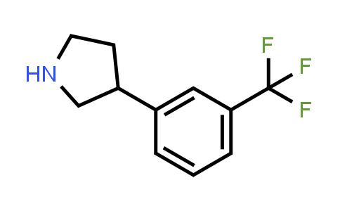 21767-35-1   3-(3-(Trifluoromethyl)phenyl)pyrrolidine